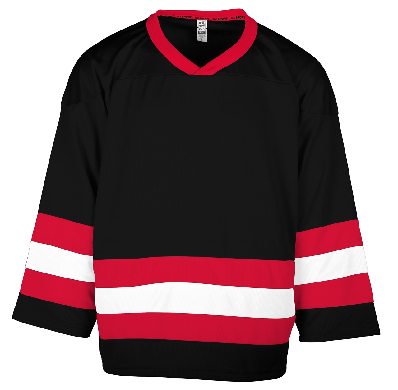 Picture of N3 SPORT Striped Hockey Jersey