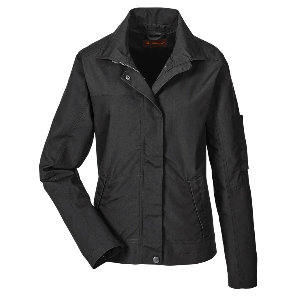 Picture of Harriton Ladies Auxiliary Canvas Work Jacket