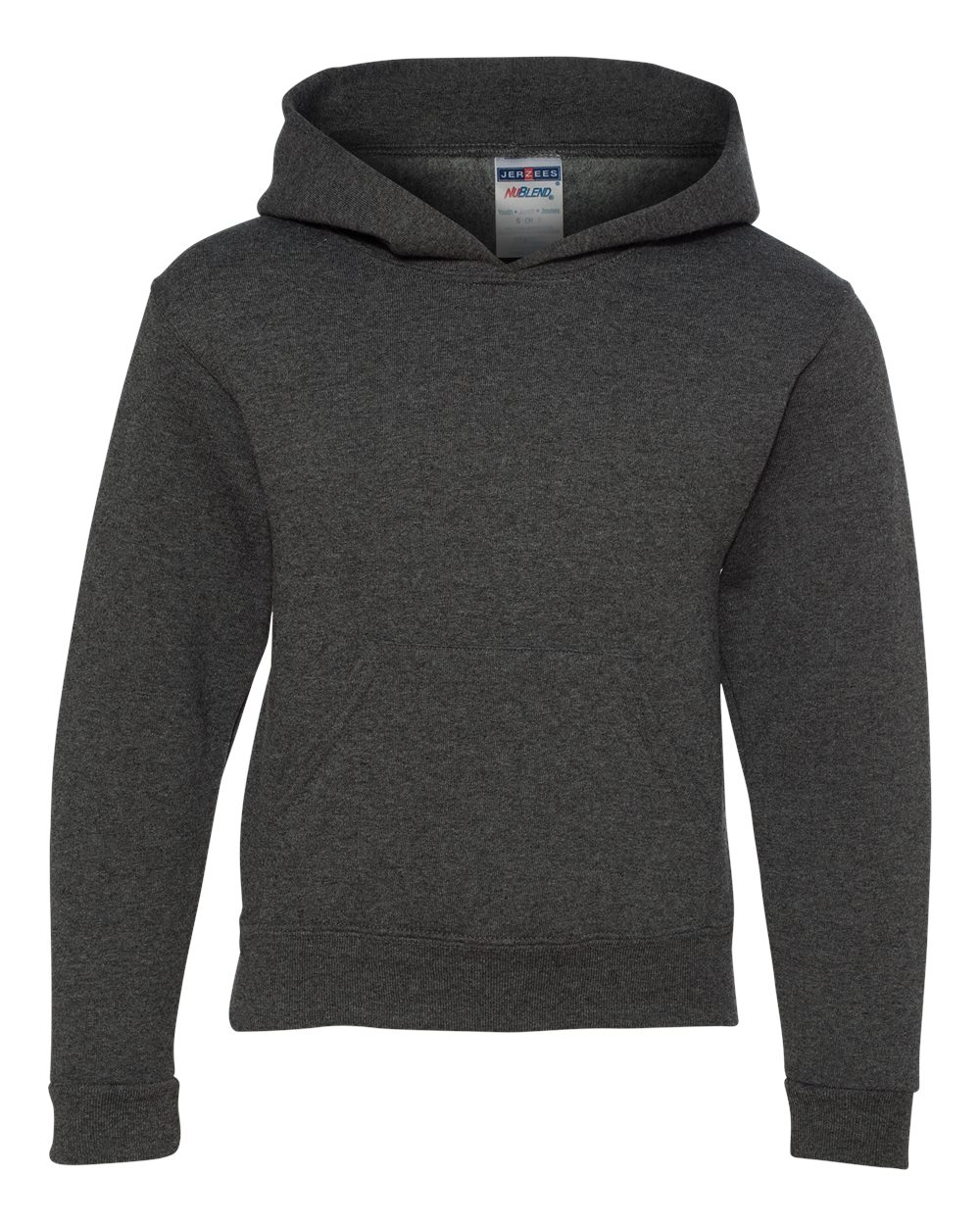 e3e55c641 Picture of Jerzees Nublend Youth Pullover Hooded Sweatshirt. $28.90 ea. for  12 - $17.89 for 1000 * based on a 1-colour Print on Front