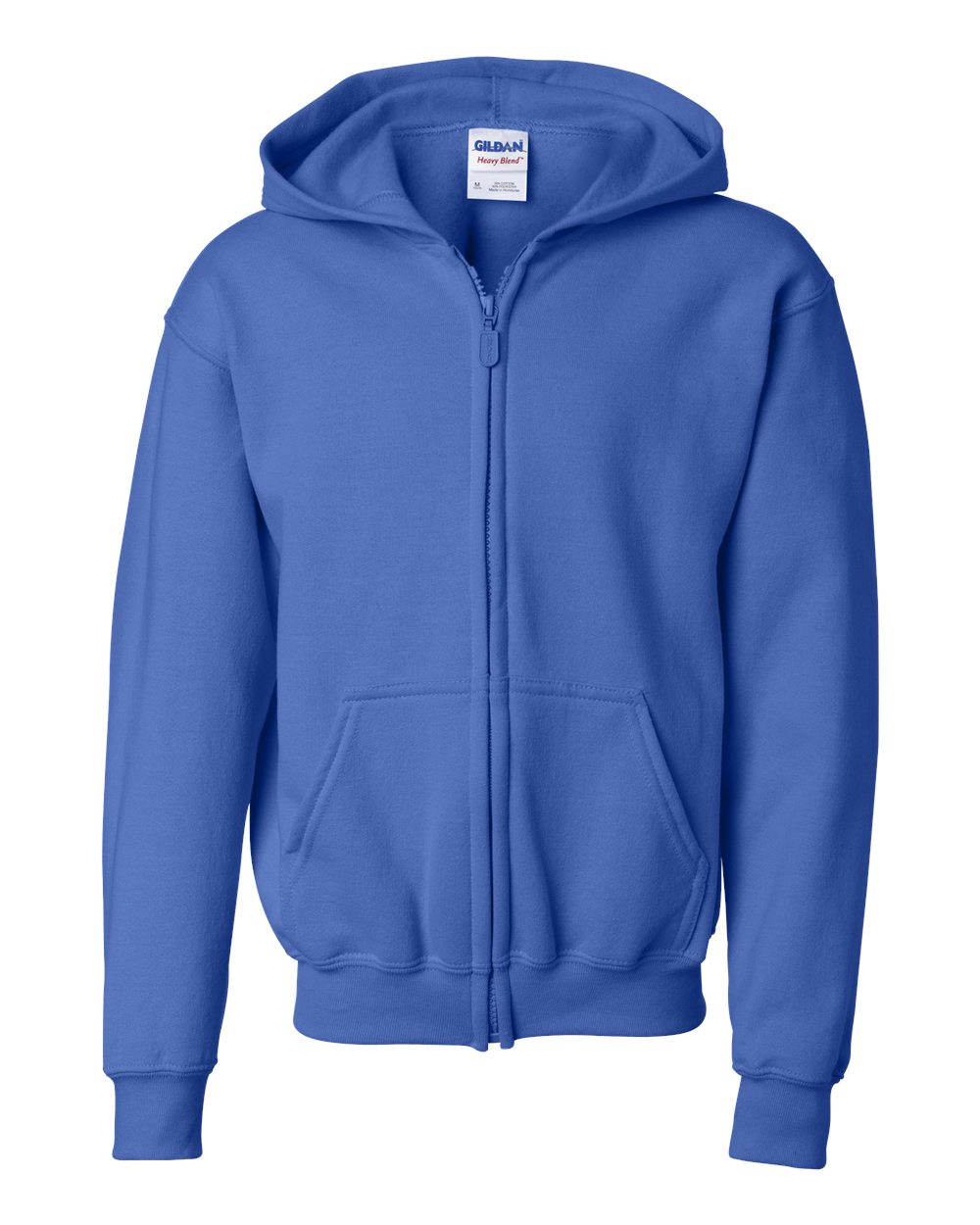 Picture of Gildan Youth Full Zip Hooded Sweatshirt