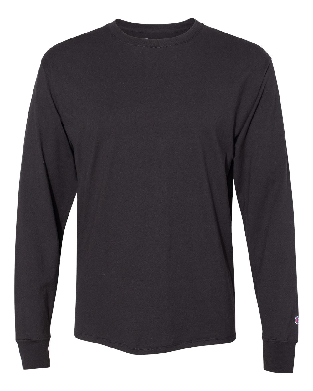 546d6901 Picture of CHAMPION Long-Sleeve Ringspun Cotton T-Shirt