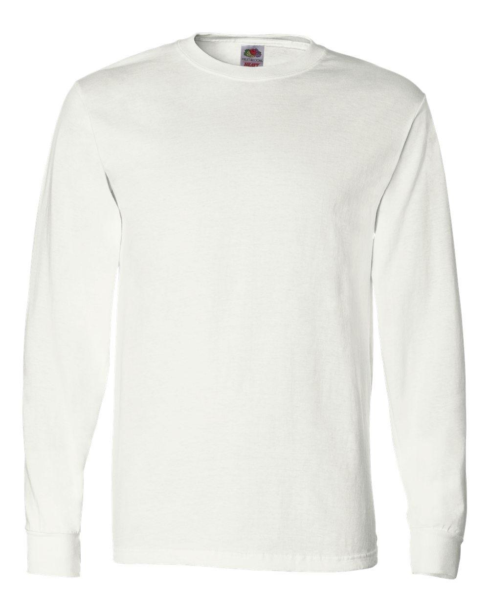 bf85d6babfb7 Fruit Of The Loom HD Cotton Long Sleeve T-Shirt | Entripy