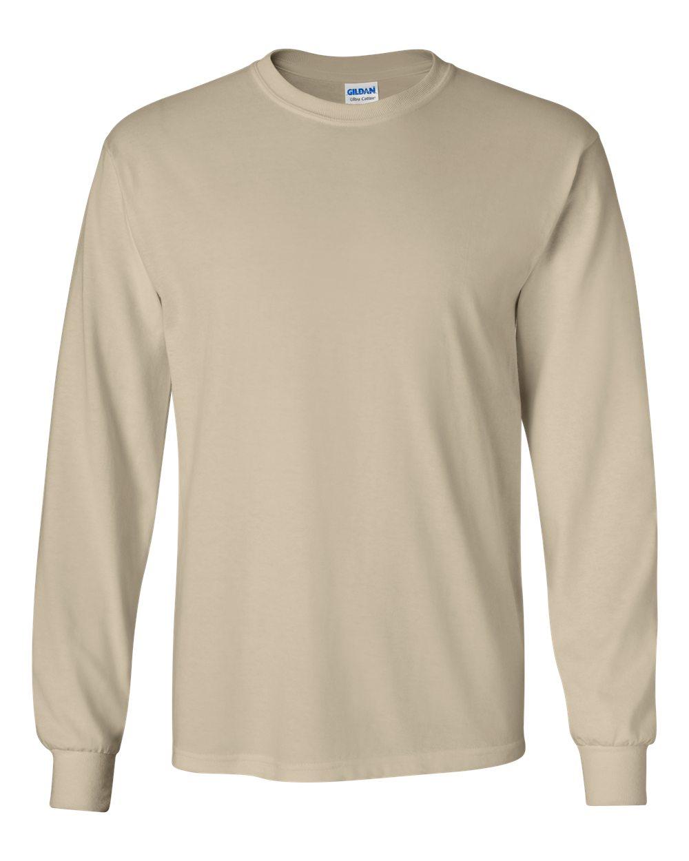 63608461f32f GILDAN Ultra Cotton Long Sleeve T   Custom T Shirts   Entripy