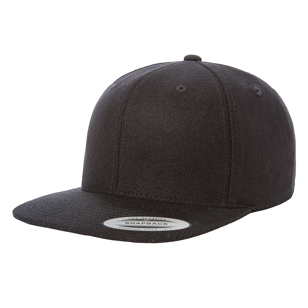 Picture of Yupoong Melton Wool Snapback