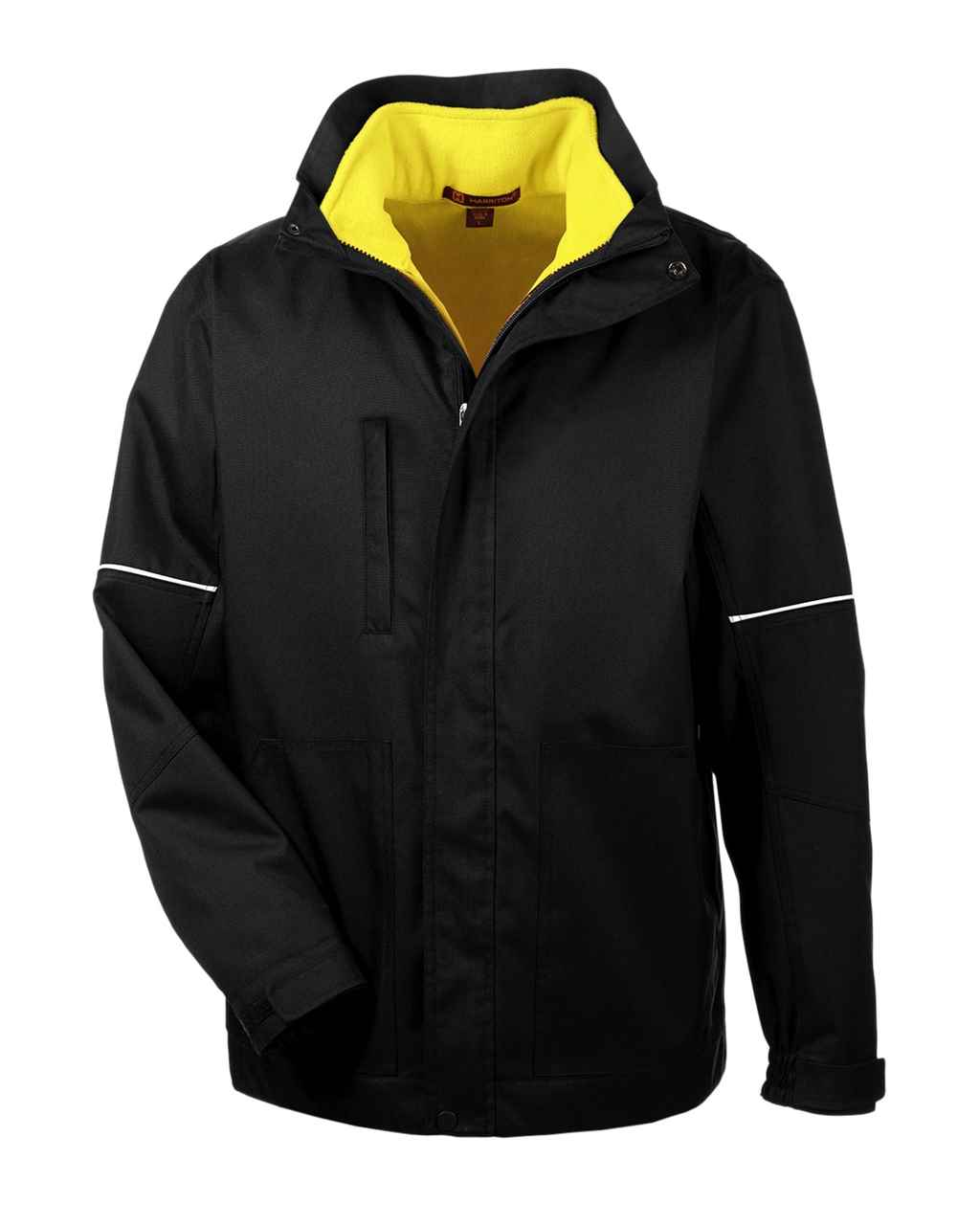 Picture of Harriton Contract 3-In-1 Jacket With Daytime Hi-Vis Fleece