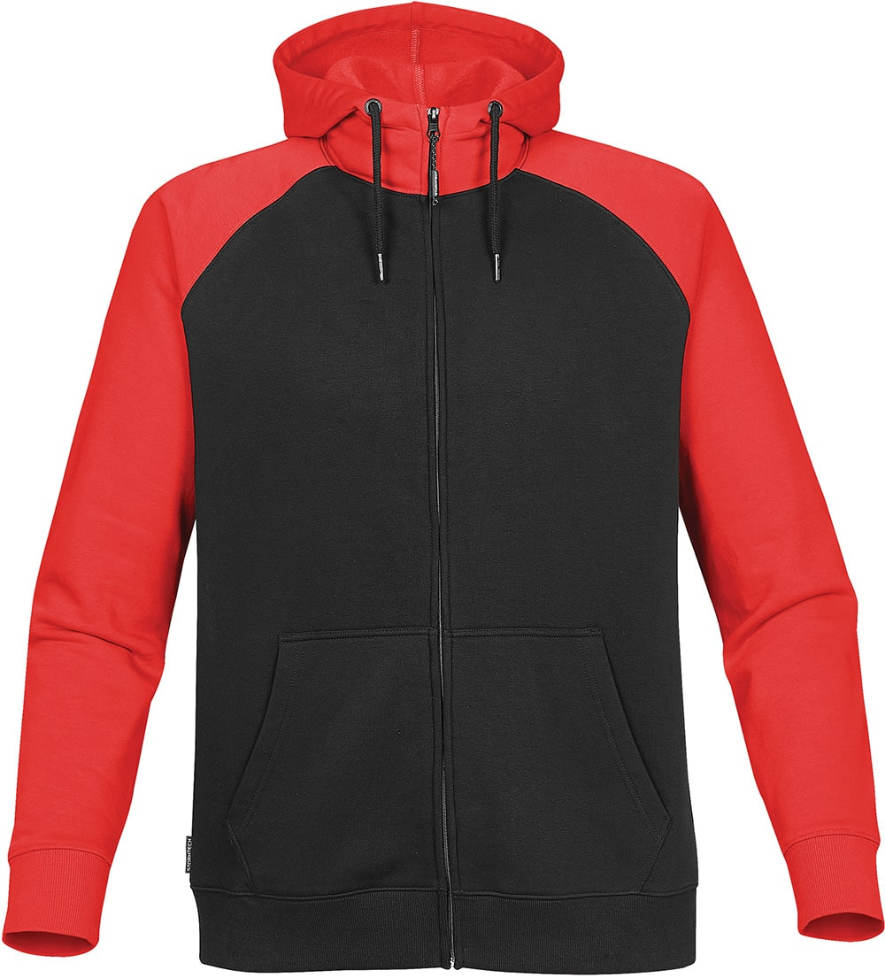 Picture of MEN'S OMEGA TWO-TONE ZIP HOODY