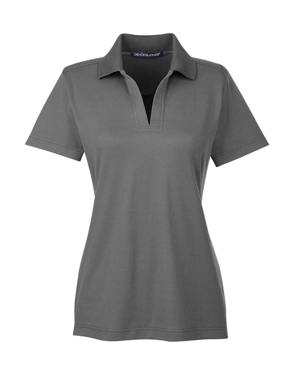 Picture of Crownlux Ladies Performance Plaited Short Sleeve Polo