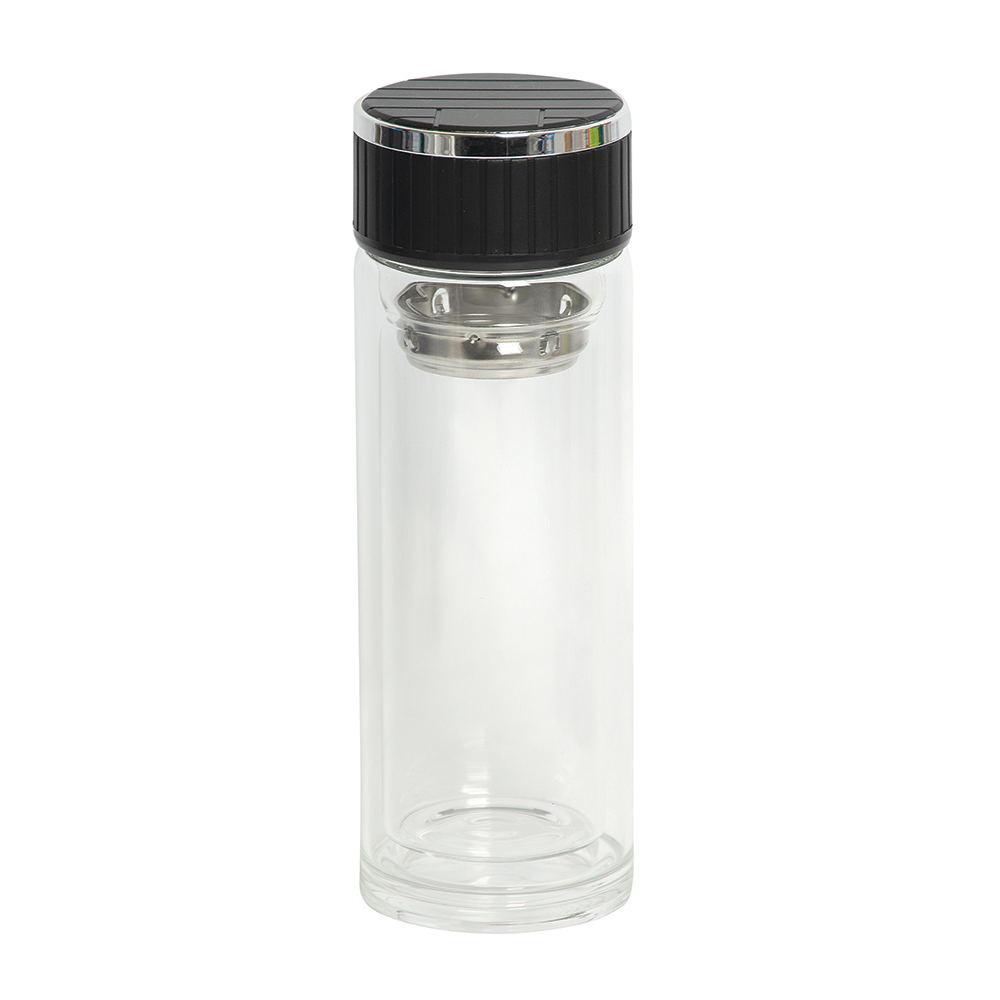 Picture of Tea Current 300 ml. (10 OZ.) Glass Bottle With Strainer