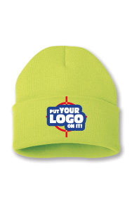 Embroider your logo on Entripy's popular custom toque with variety of colours to choose from.