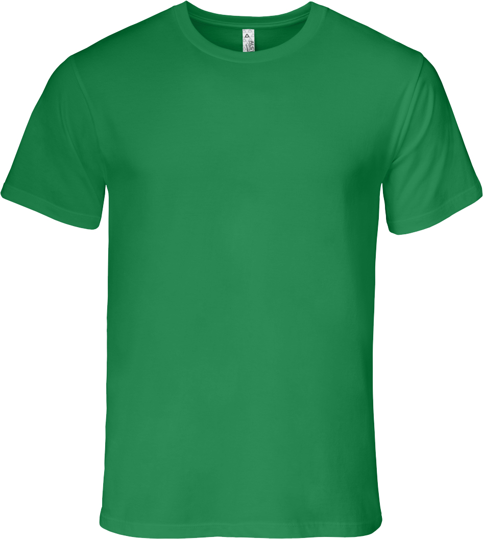 Alstyle kelly green crewneck custom t-shirt. Entripy's top 5 t-shirt for customization.