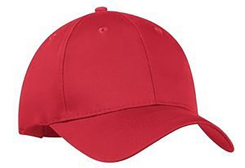 Custom embroidered baseball cap to be given as a wedding favour to the visiting guests