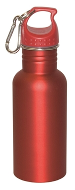 Stainless steel custom water bottle a great giveaway item for your next fitness event.