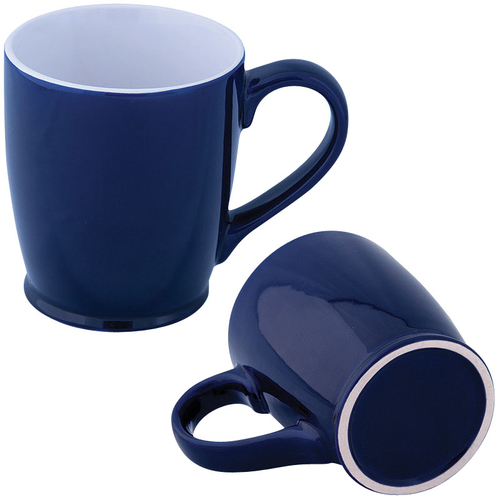 Custom coffee mug ideal for giveaways for corporate employee gifts.