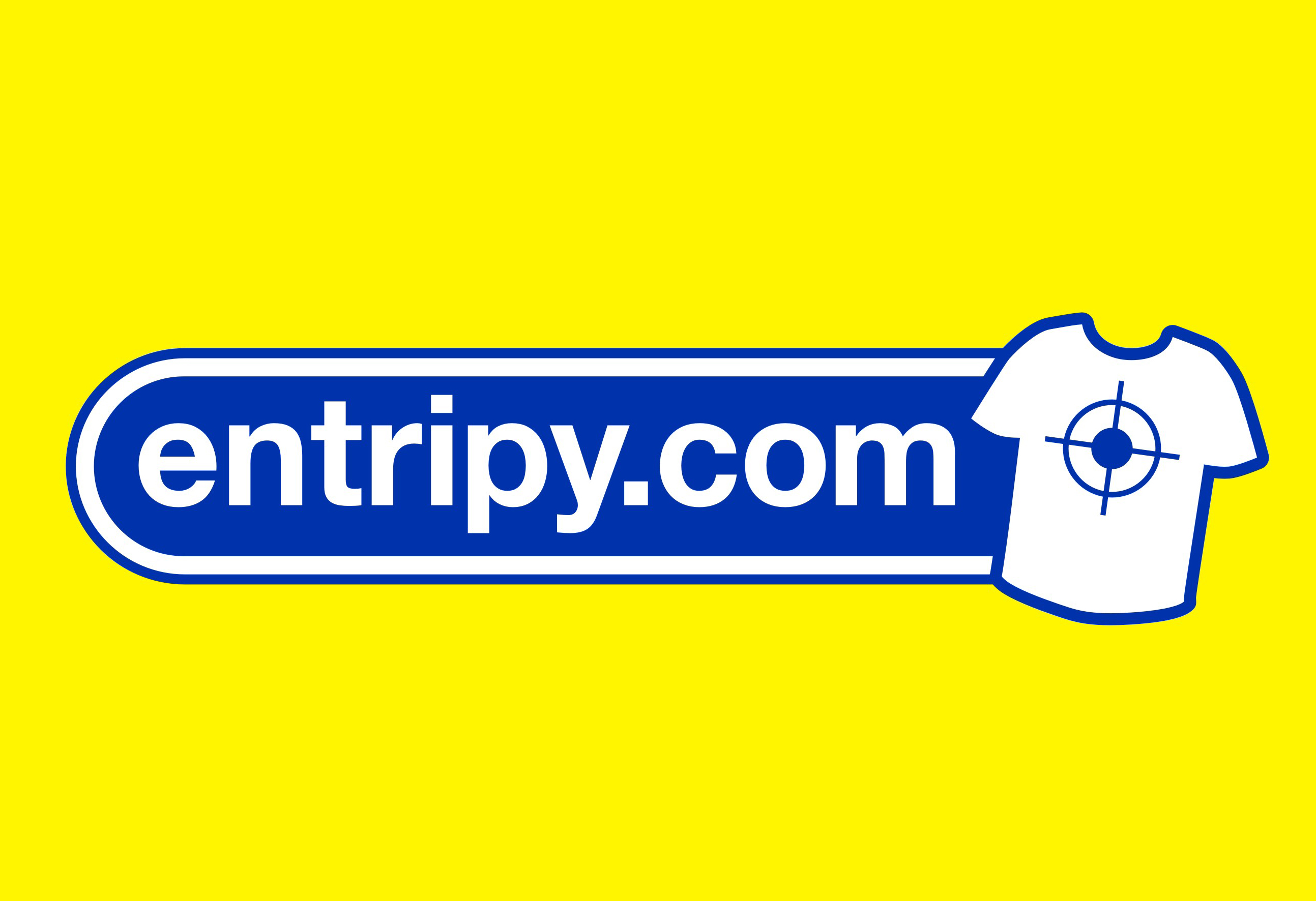 Entripy Custom Clothing logo.
