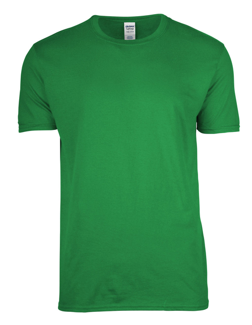 Gildan Ring Spun t-shirt fit to last with top quality and customized on a stylish casual t-shirt for everyday wear.