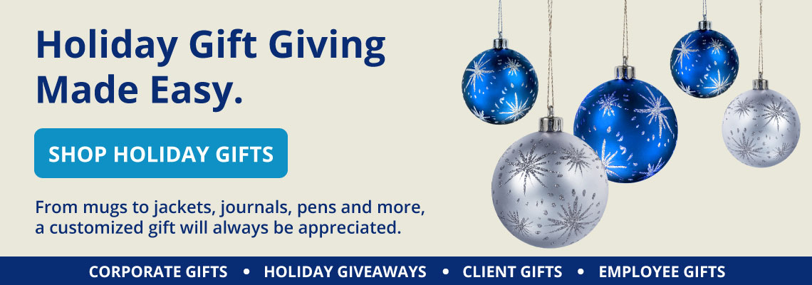 Entripy's holiday gifts selection of custom corporate gifts and giveaways.