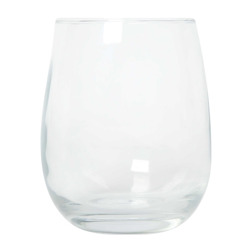 Beautiful Custom Stemless wine glass for your favourite wine or other beverage.