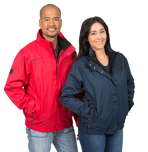 Embroidered custom jackets for winter wear from Stormtech Performance line.