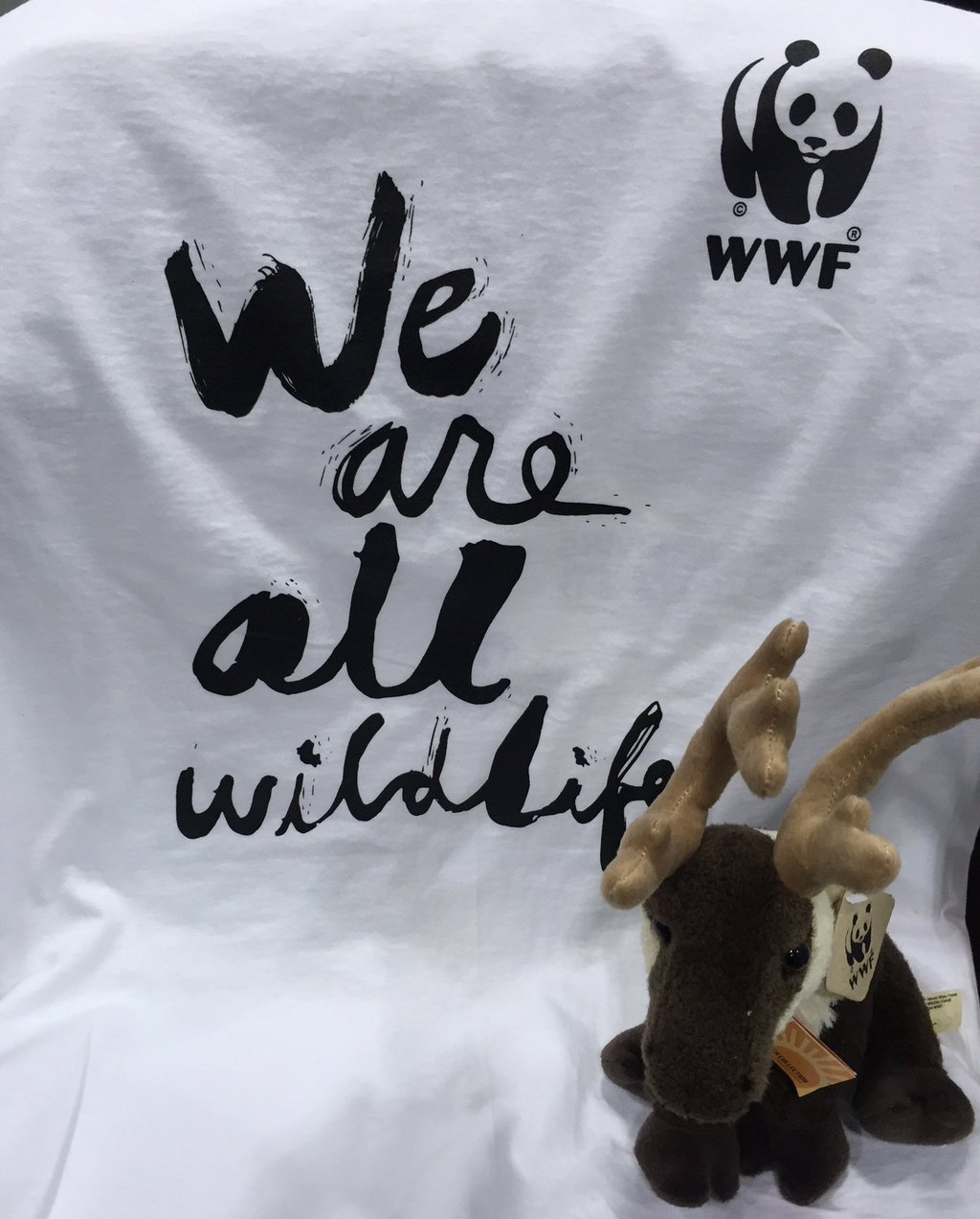 Custom t-shirt for World Wildlife Fund organization printed for the CN Tower climb.