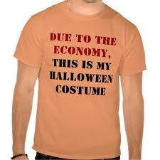 Custom t-shirt printed with design for halloween.