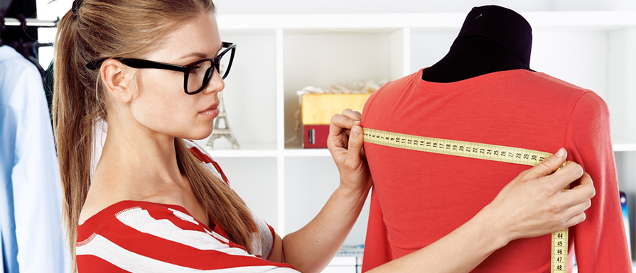 Measuring custom clothing and understanding measurement terms in size guides to help your custom t-shirt order.
