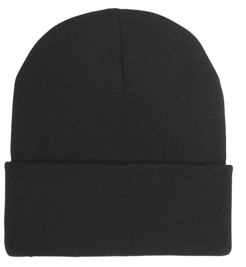 Everyday wear custom toque with a perfect canvas for custom logo.