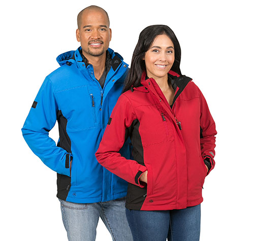 Stormtech custom jackets in mens and women styles.