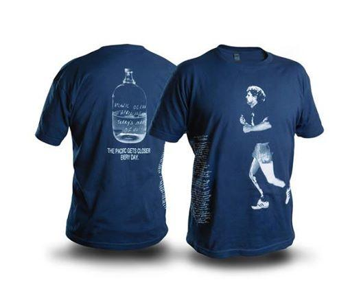Entripy screen printed custom t-shirts for Terry Fox Foundation participants for the Marathon of Hope run.