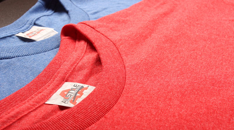 Giving Triblend Fabrics a Tri for your Custom T-Shirts