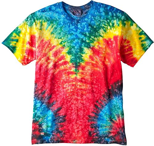 Printing on tye dye custom shirts custom apparel for Custom t shirts tie dye