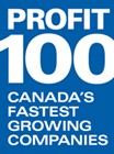 Entripy named Profit 100 Canada's fastest growing companies.